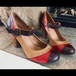 Retro style Aldo Mary Janes heels size 38